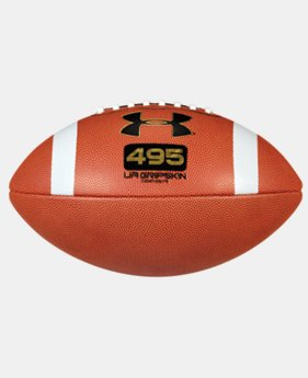 UA GRIPSKIN 495 Composite Football   $29.99