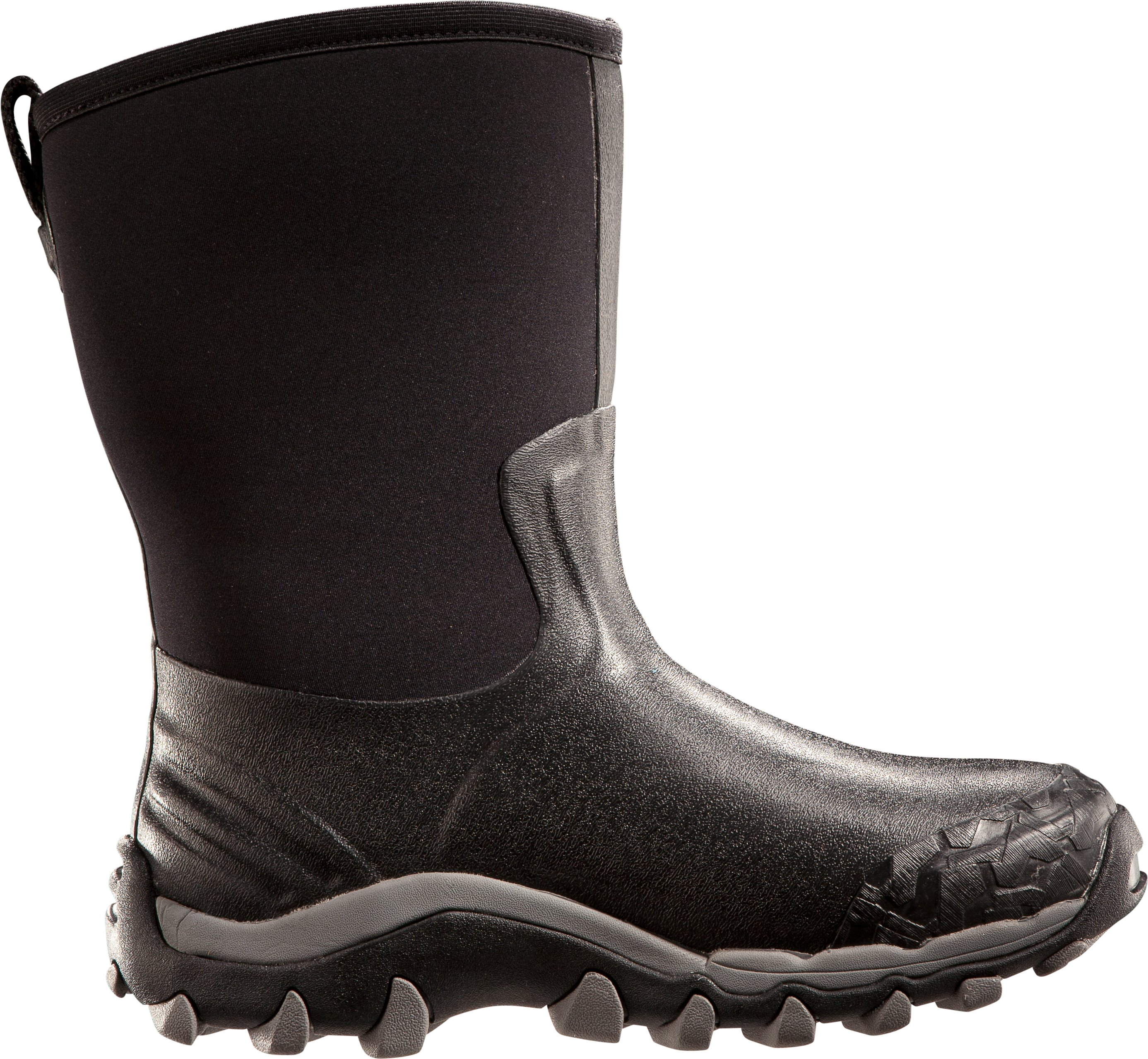 Men's UA H.A.W. Shorty Hunting Boots, Black , zoomed image