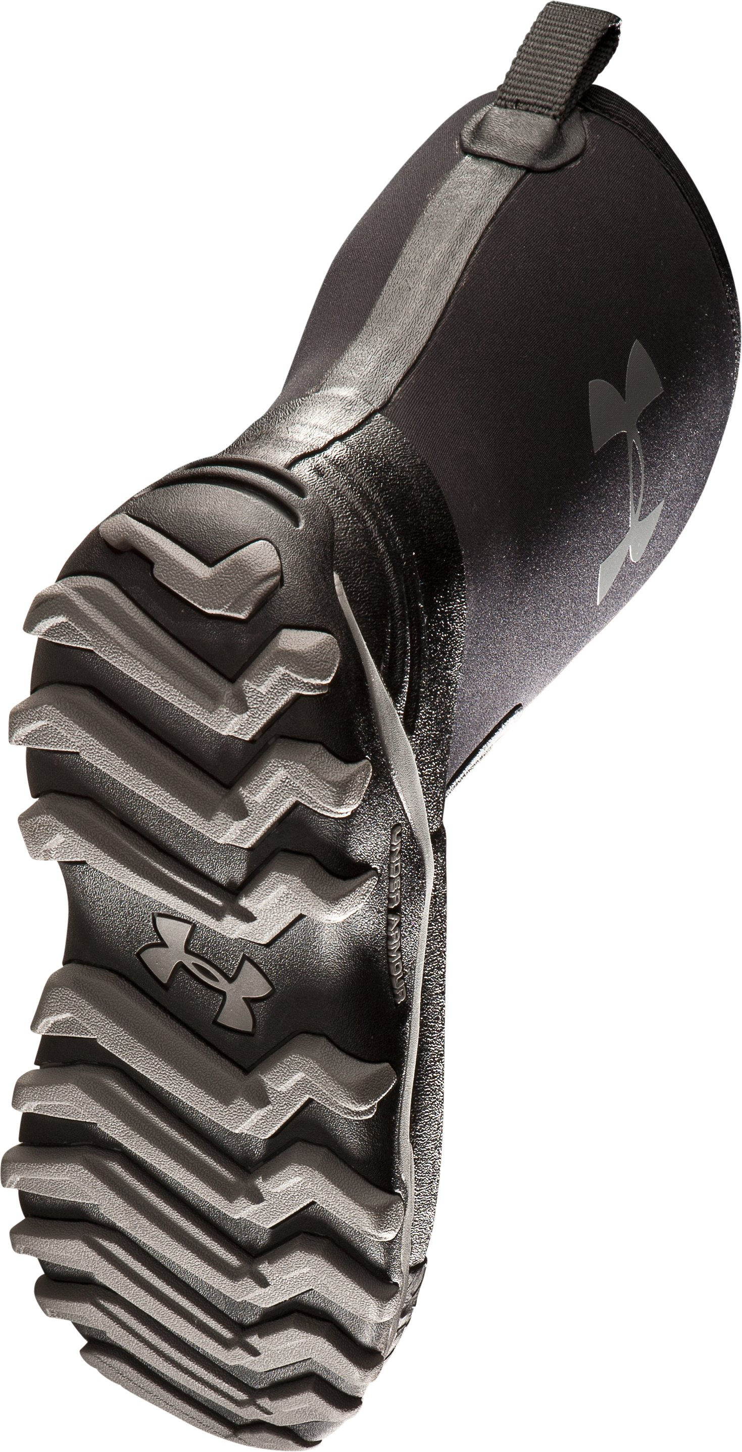 Men's UA H.A.W. Shorty Hunting Boots, Black , undefined