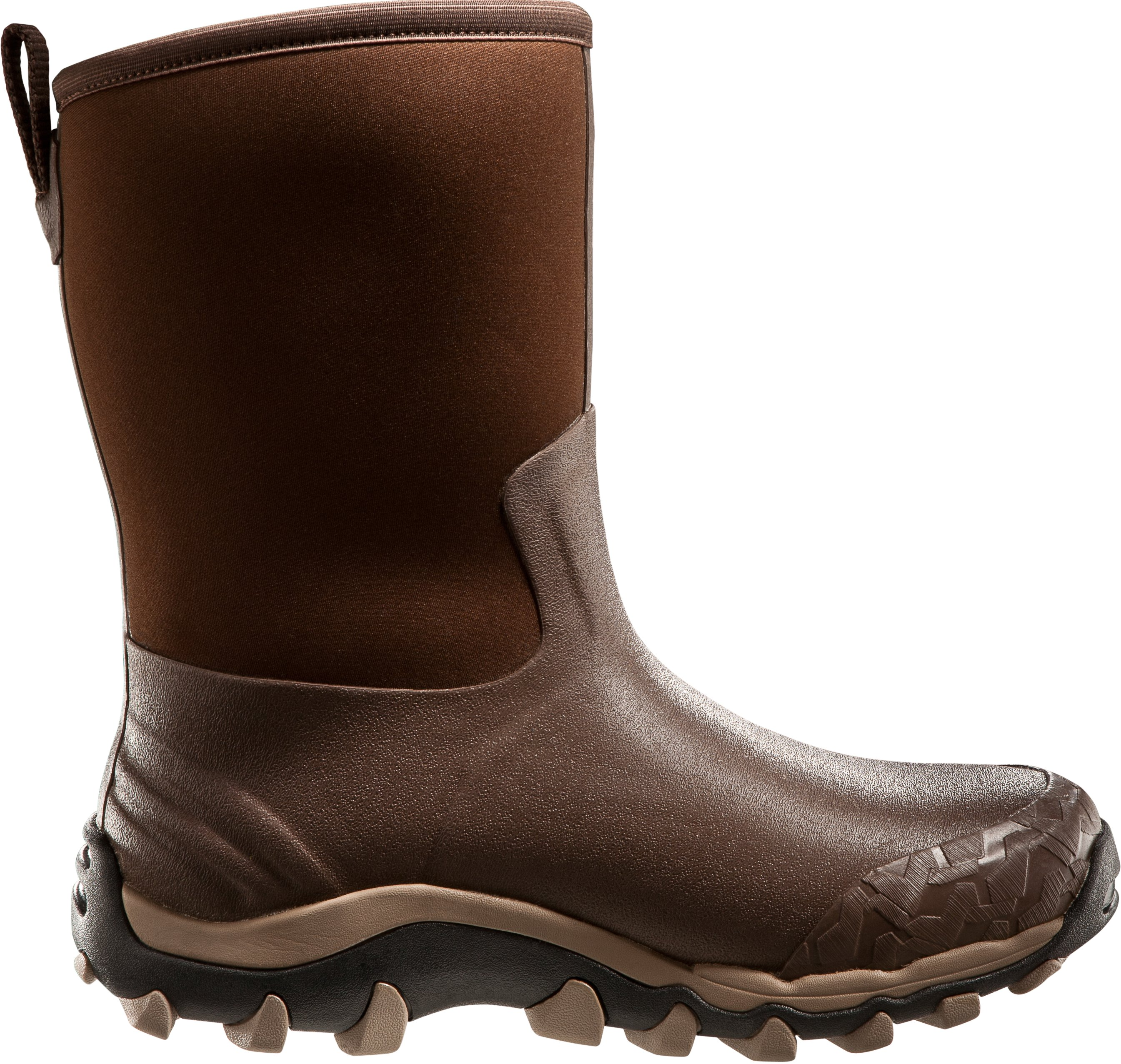 Men's UA H.A.W. Shorty Hunting Boots, Timber