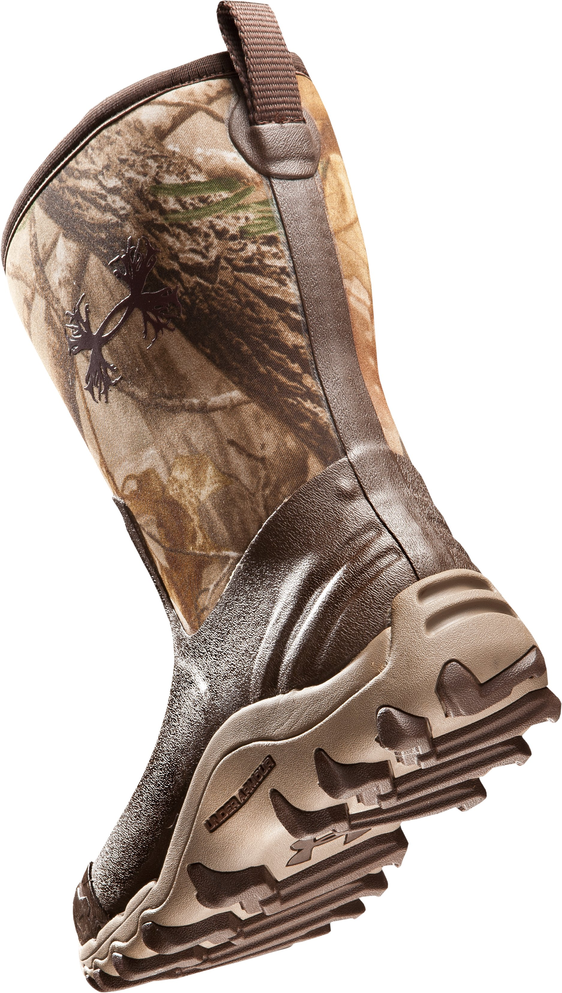 Men's UA H.A.W. Shorty Hunting Boots, Realtree AP