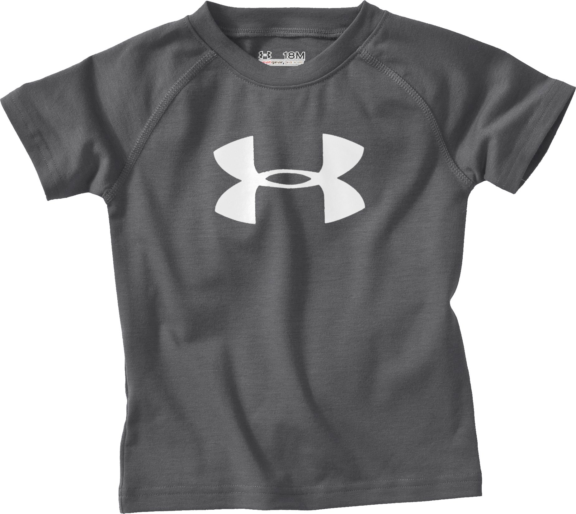 Boys' Toddler Big Logo UA Tech™ T-Shirt, Graphite