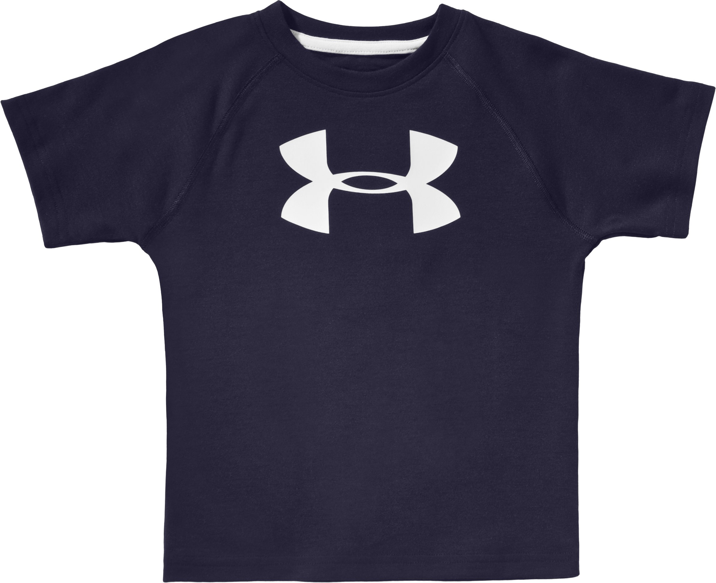 Boys' Toddler Big Logo UA Tech™ T-Shirt, Midnight Navy, zoomed image