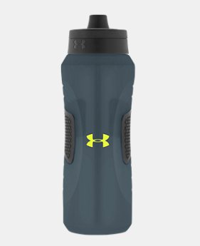 Undeniable 32 oz. Squeezable Water Bottle with Quick Shot Lid