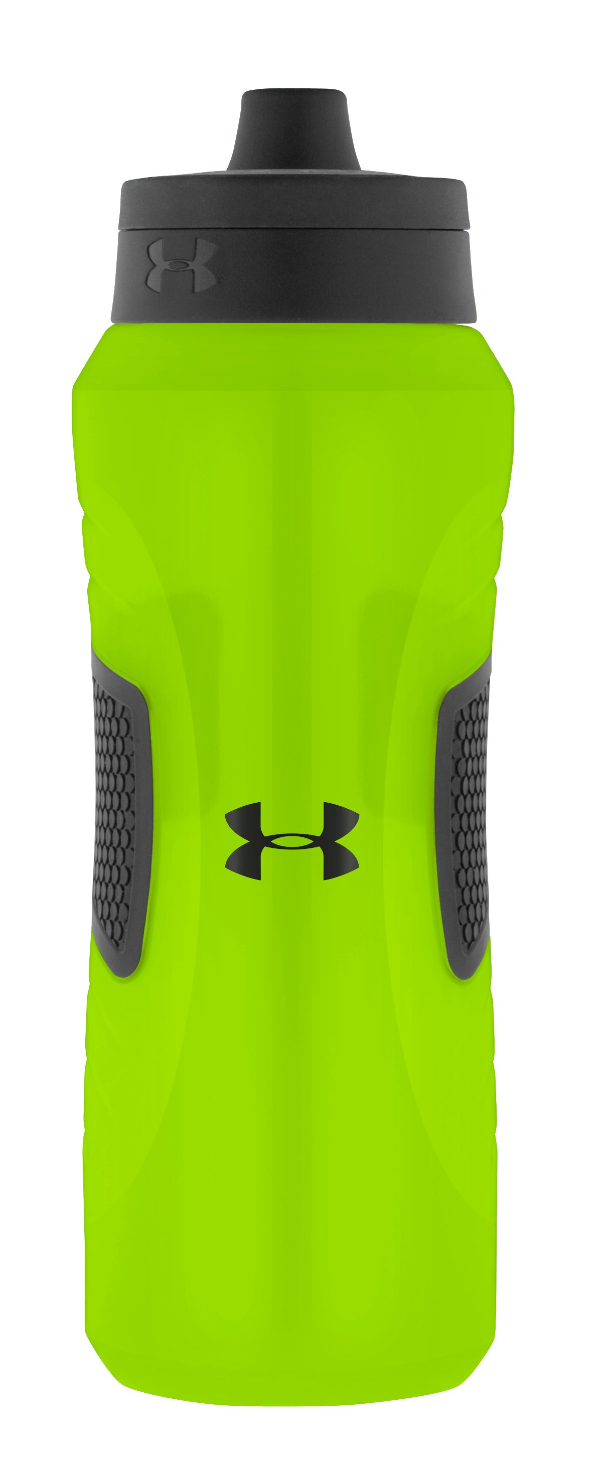 Undeniable 32 oz. Squeezable Water Bottle with Quick Shot Lid, HYPER GREEN