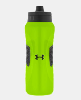 Undeniable 32 oz. Squeezable Water Bottle with Quick Shot Lid  1  Color Available $15