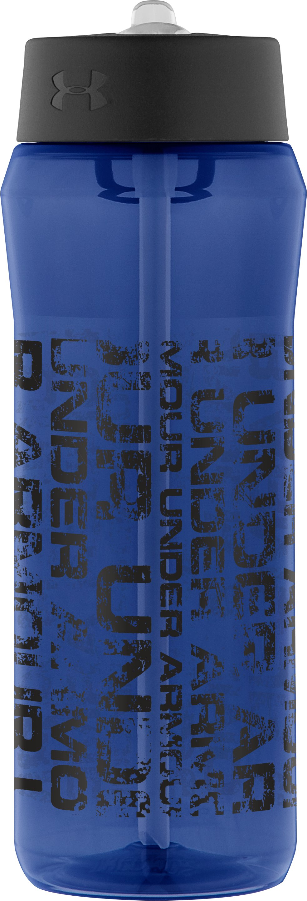 Distressed 24 oz. Tritan Bottle with Straw Top, Midnight Navy, zoomed image