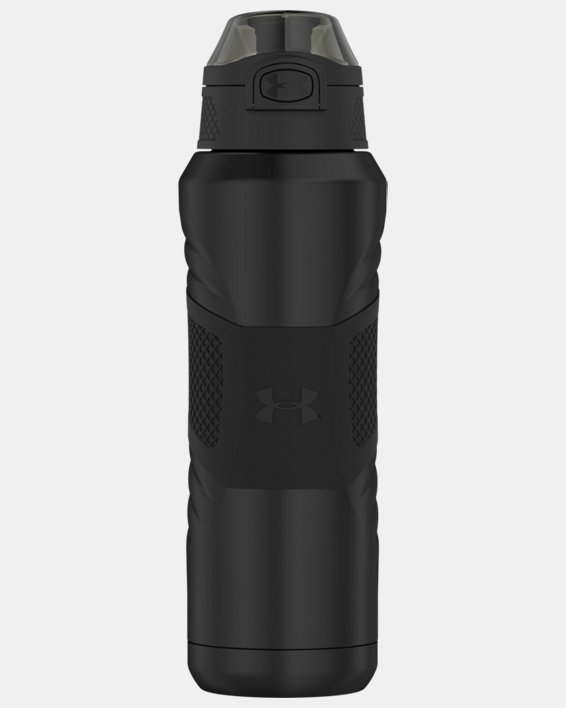 UA Dominate 24 oz. Vacuum-Insulated Water Bottle with Flip Top Lid, Gray, pdpMainDesktop image number 0