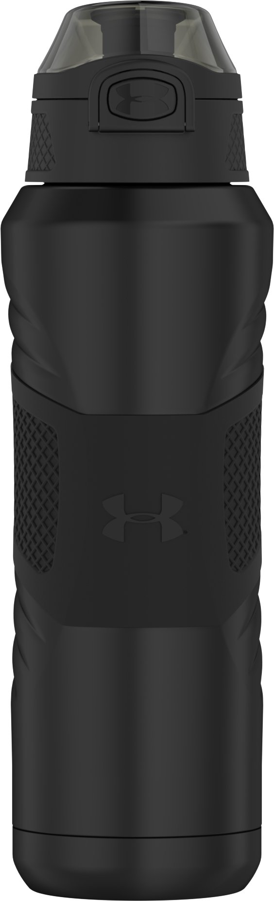 UA Dominate 24 oz. Vacuum-Insulated Water Bottle with Flip Top Lid, Smoke