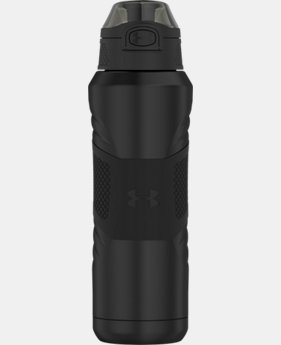 Best Seller UA Dominate 24 oz. Vacuum-Insulated Water Bottle with Flip Top Lid  1  Color Available $31.99 to $32