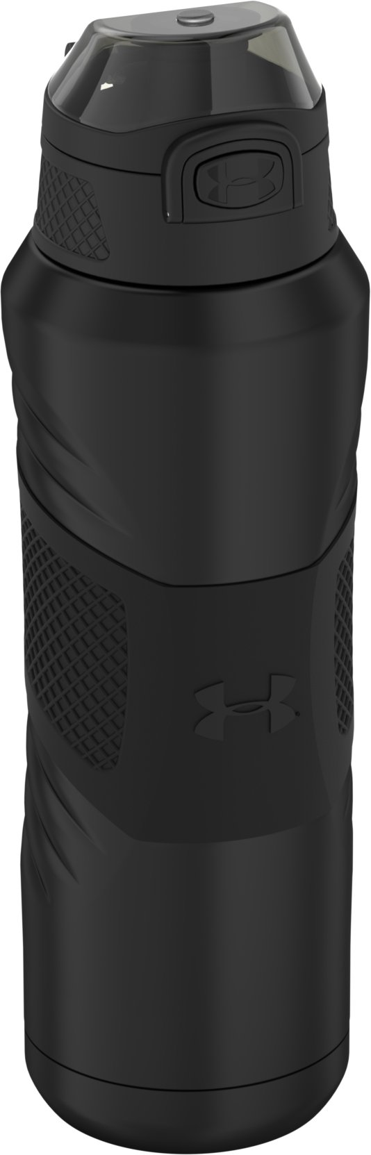 UA Dominate 24 oz. Vacuum-Insulated Water Bottle with Flip Top Lid, Smoke,