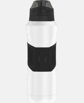 Best Seller UA Dominate 24 oz. Vacuum-Insulated Water Bottle with Flip Top Lid   $31.99 to $32