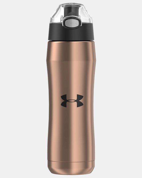UA Beyond 18 oz. Vacuum Insulated Water Bottle, Brown, pdpMainDesktop image number 0