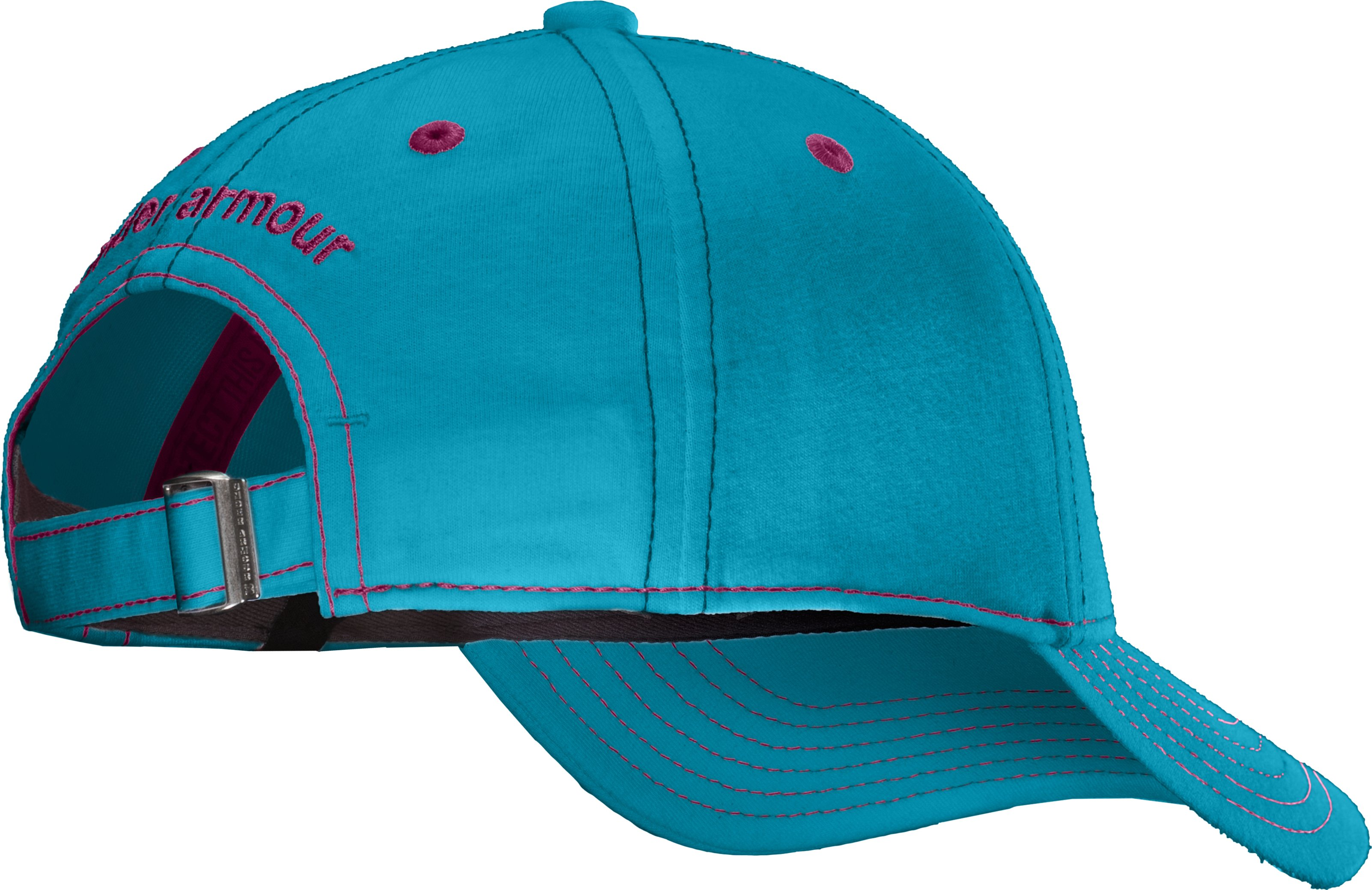 Girls' UA Charged Cotton® Adjustable Cap, Break