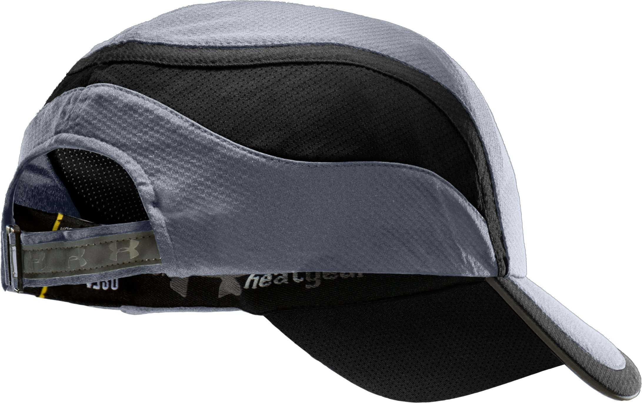 Men's coldblack® Adjustable Run Cap, Steel