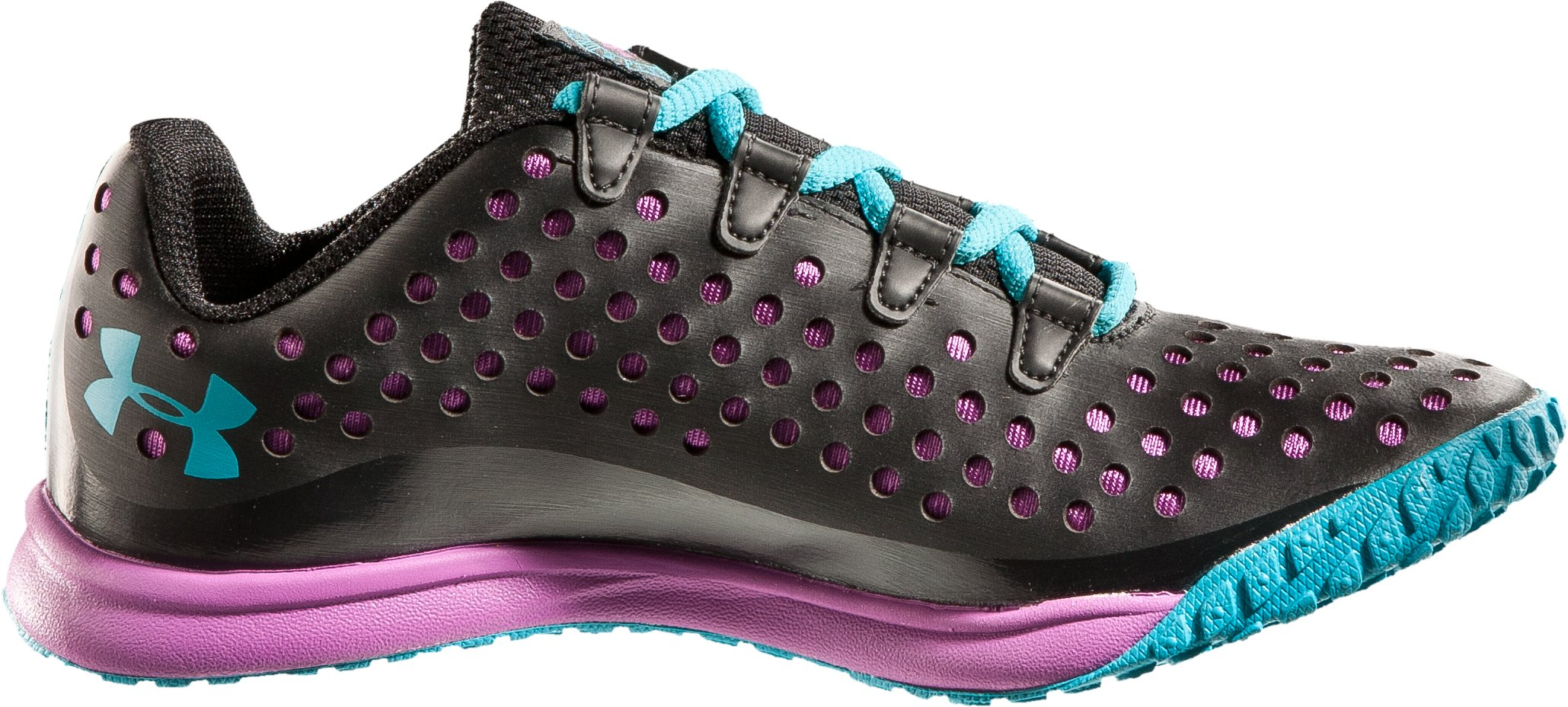 Girls' Grade School UA Go II, Black