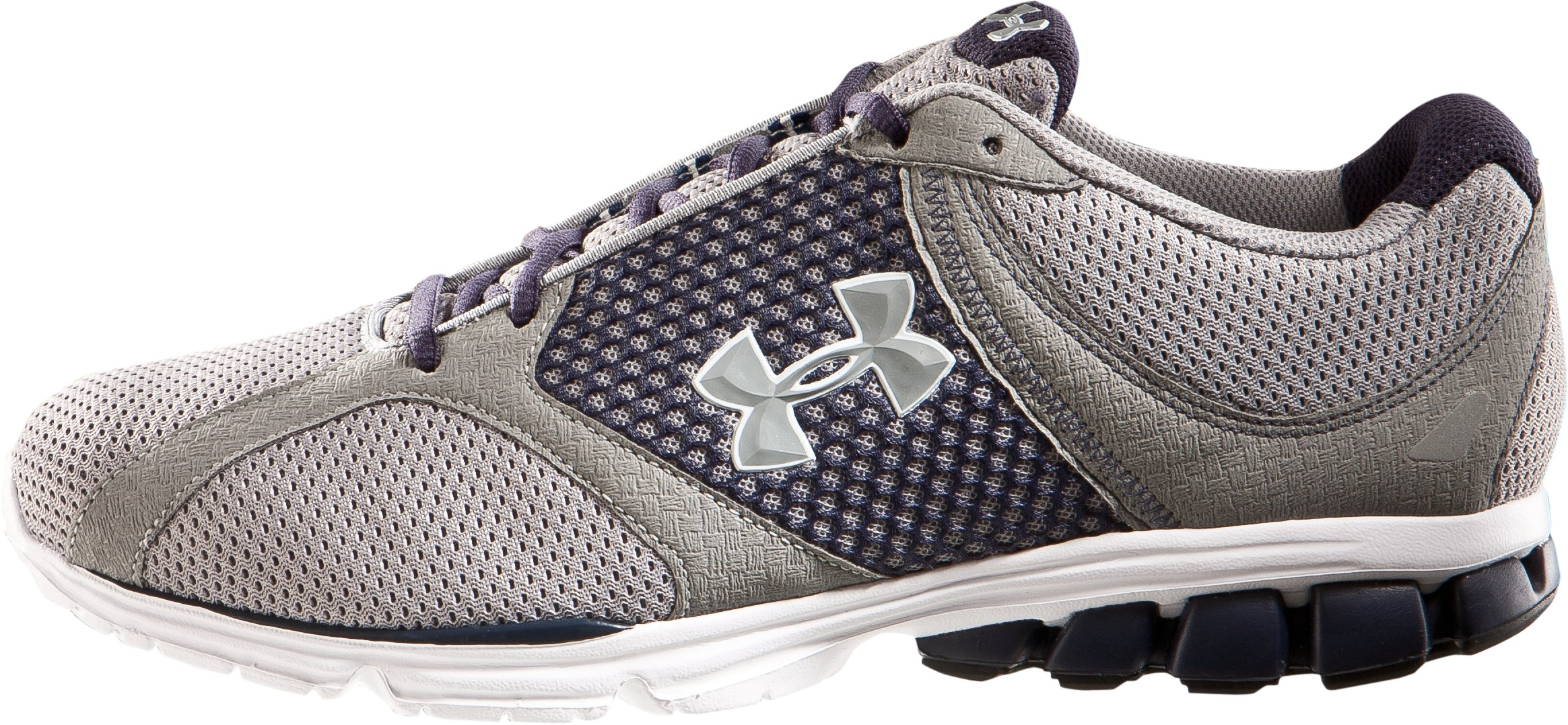 Men's UA Assert Running Shoes, Steel, zoomed image