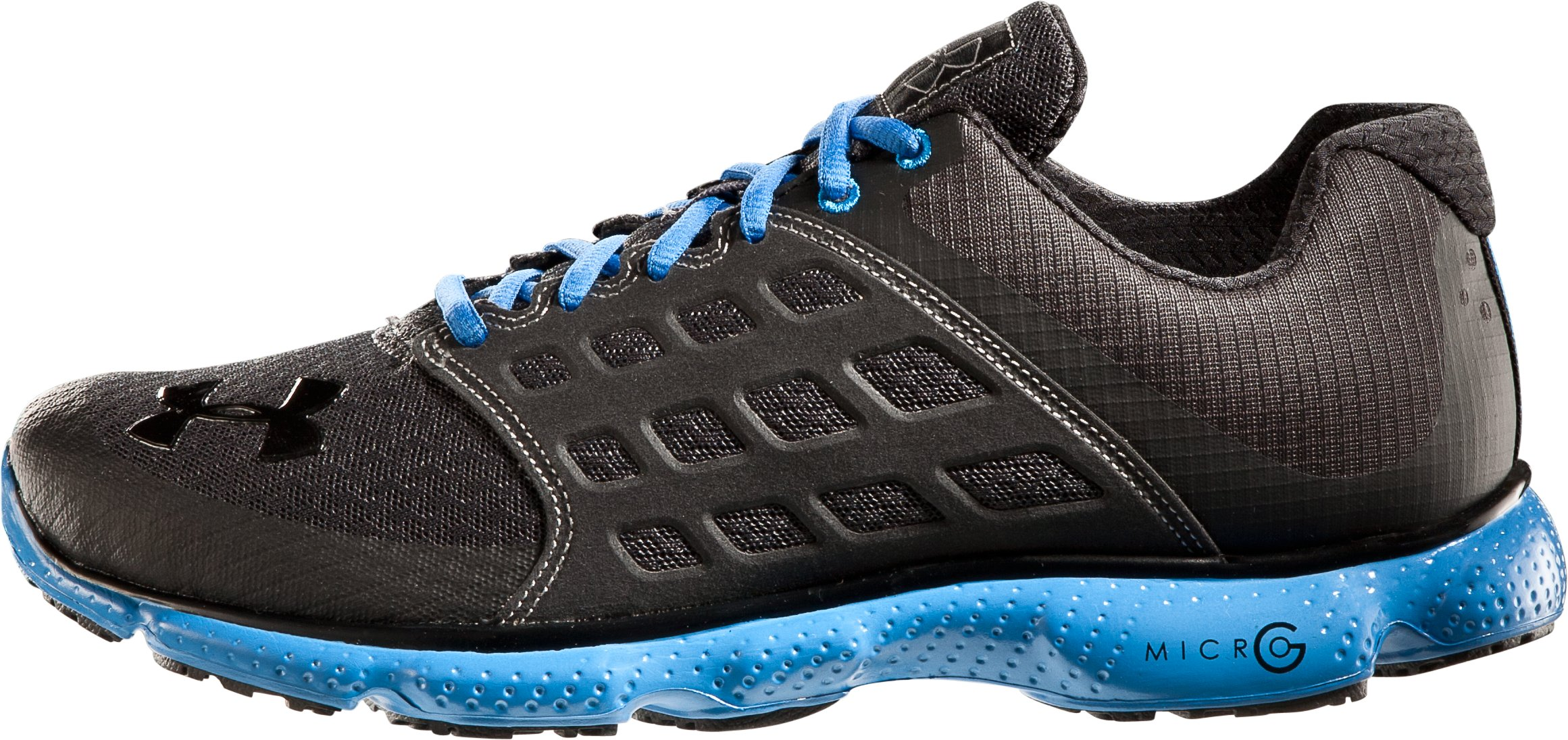 Men's UA Micro G® Connect Running Shoes, Charcoal