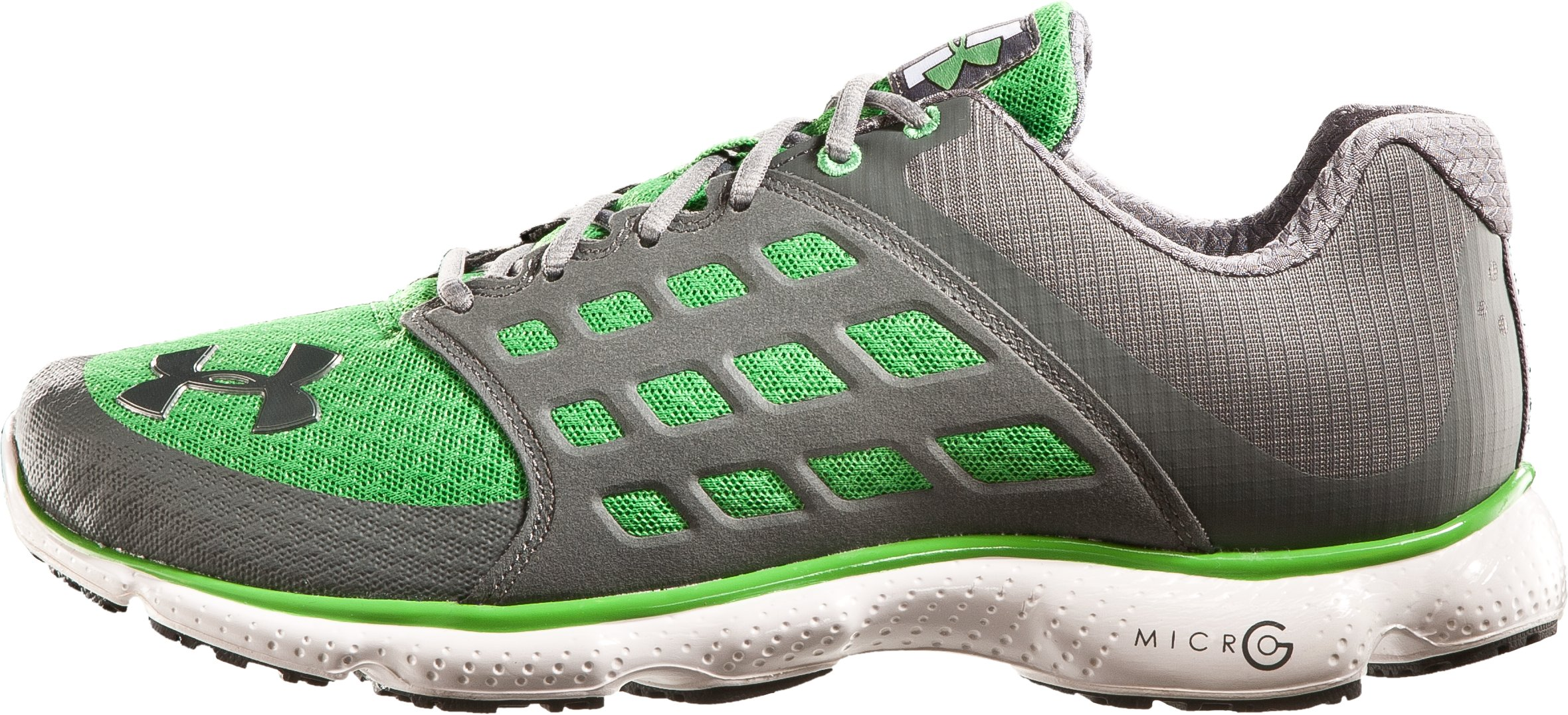 Men's UA Micro G® Connect Running Shoes, Tree Frog, zoomed image
