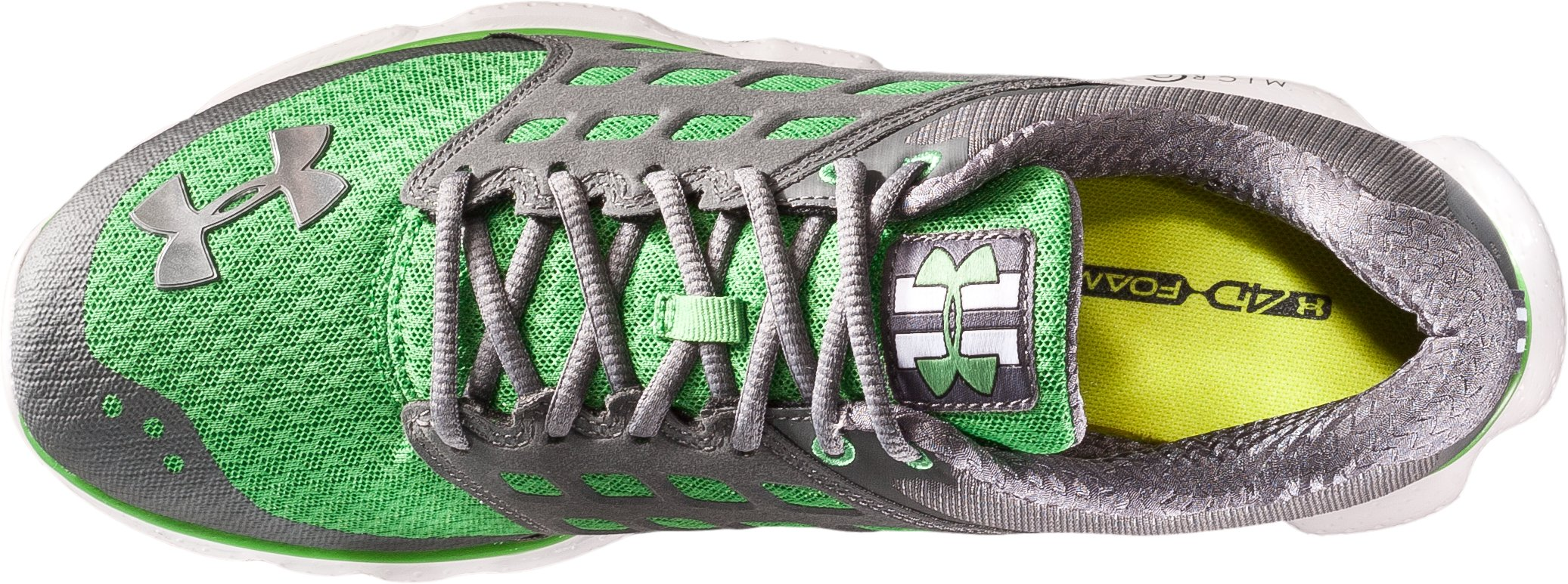 Men's UA Micro G® Connect Running Shoes, Tree Frog