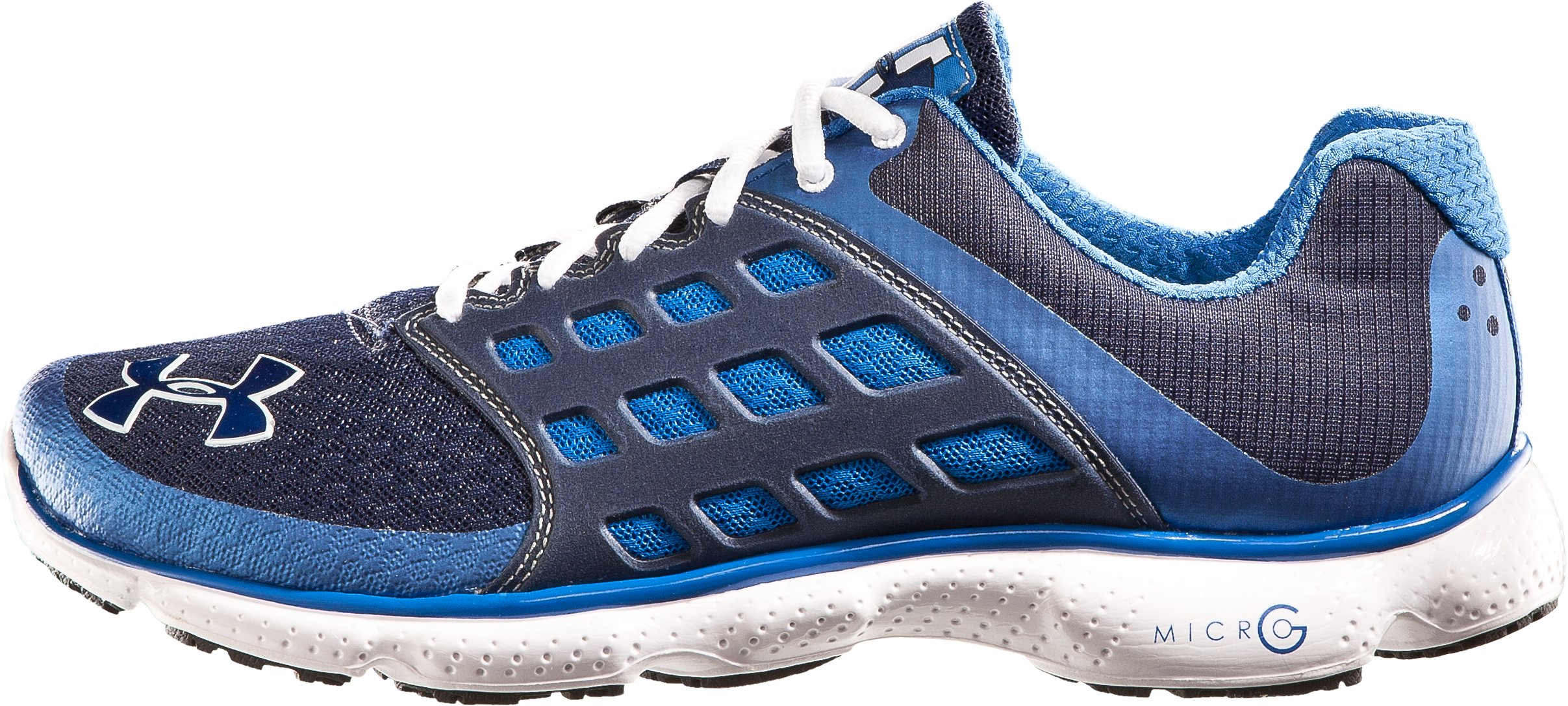 Men's UA Micro G® Connect Running Shoes, Midnight Navy, zoomed image