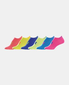 6-Pack Women's Neon Liner Socks 6-Pack LIMITED TIME: FREE U.S. SHIPPING 1 Color $18.99