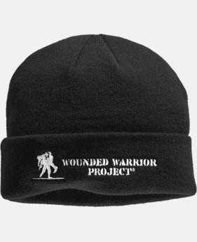 Men's UA WWP Stealth Beanie  1 Color $14.99