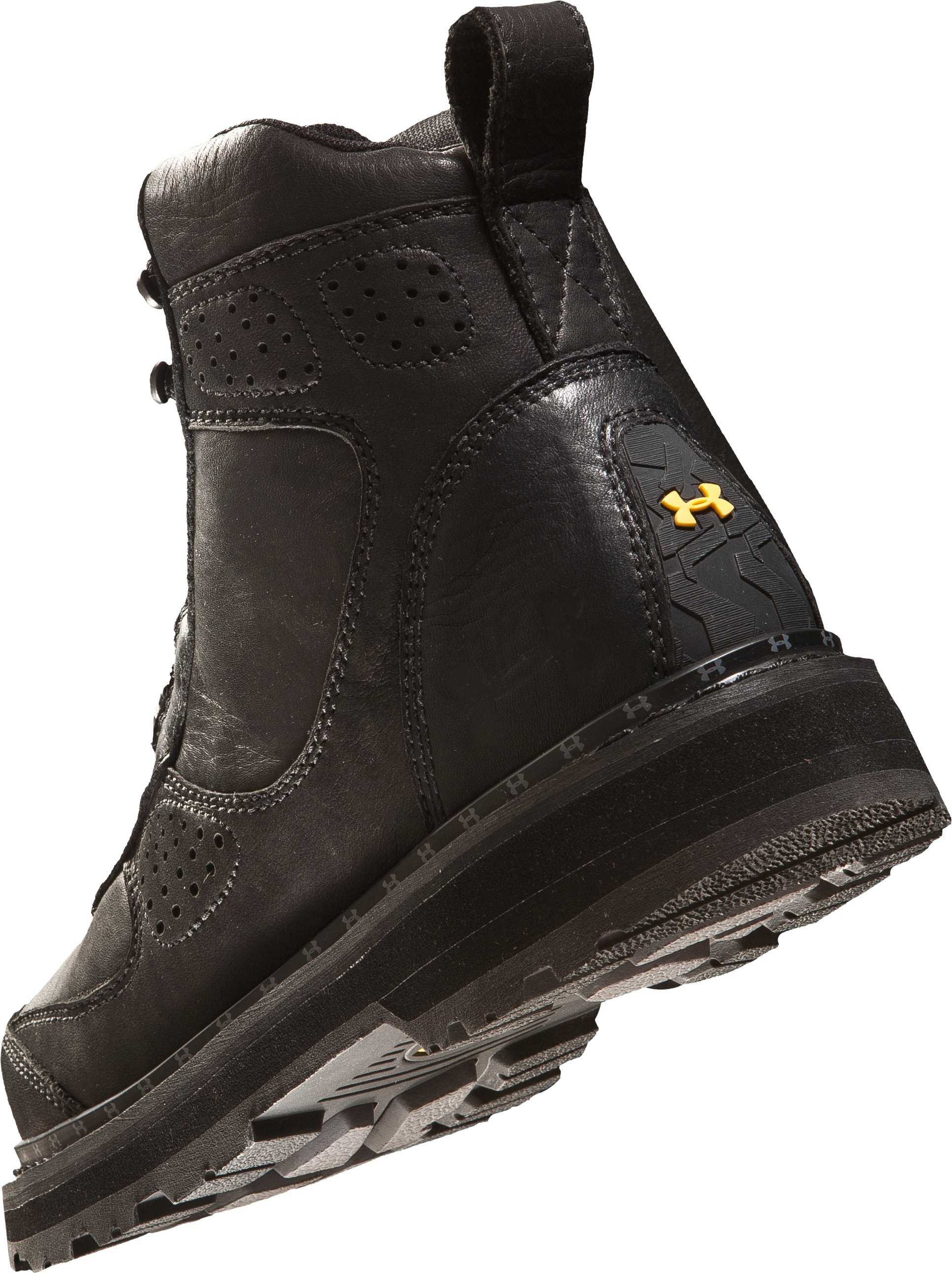 "Men's UA Lindig Leather 6.75"" Boots, Black"