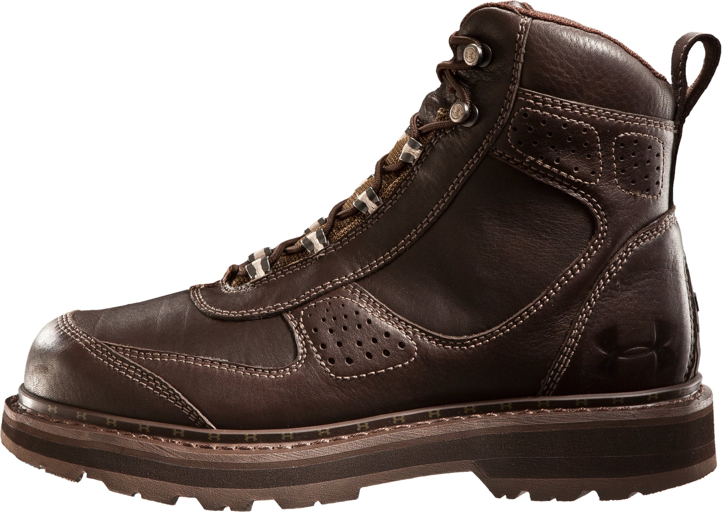 "Men's UA Lindig Leather 6.75"" Boots, Timber"