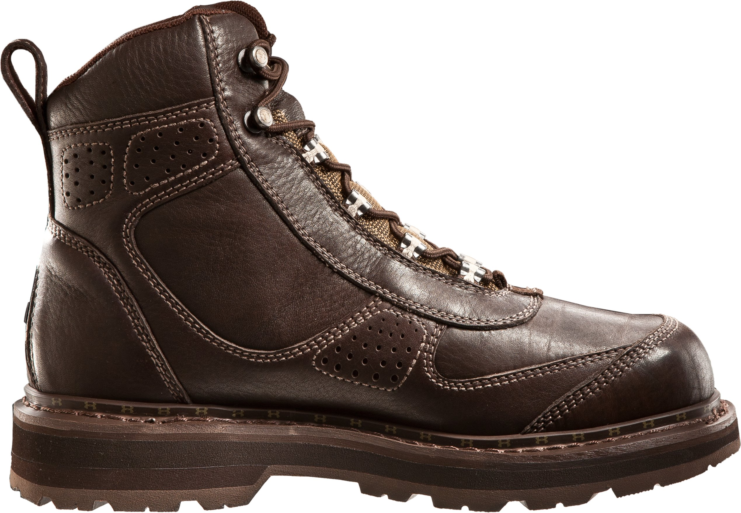 "Men's UA Lindig Leather 6.75"" Boots, Timber, undefined"
