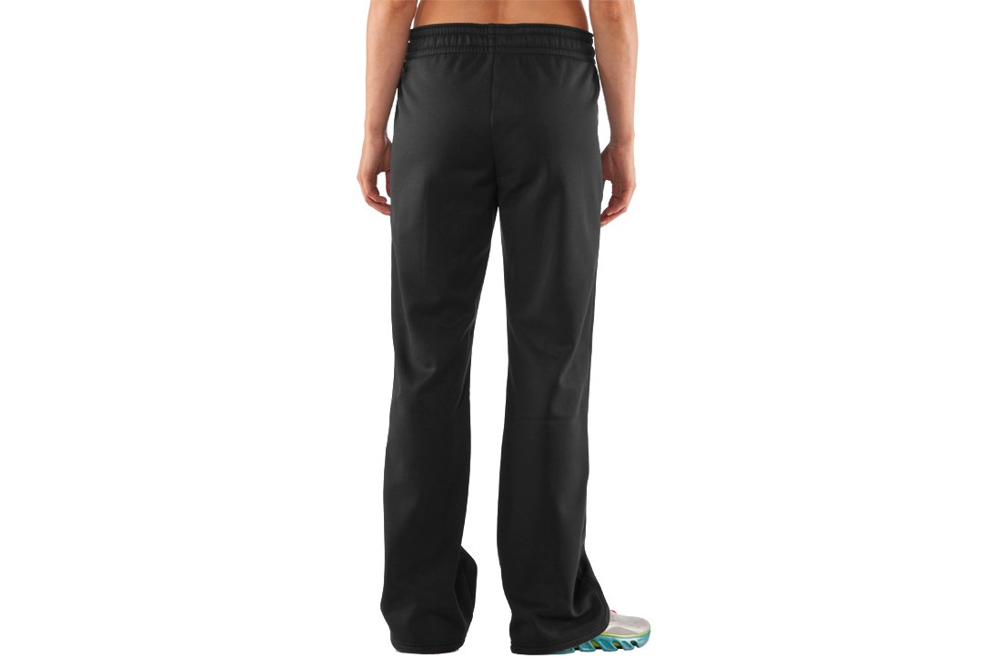 Women's Armour® Fleece Storm Pant, Black