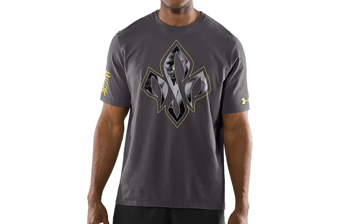 UA GSP Imagery Tee, Charcoal, zoomed image