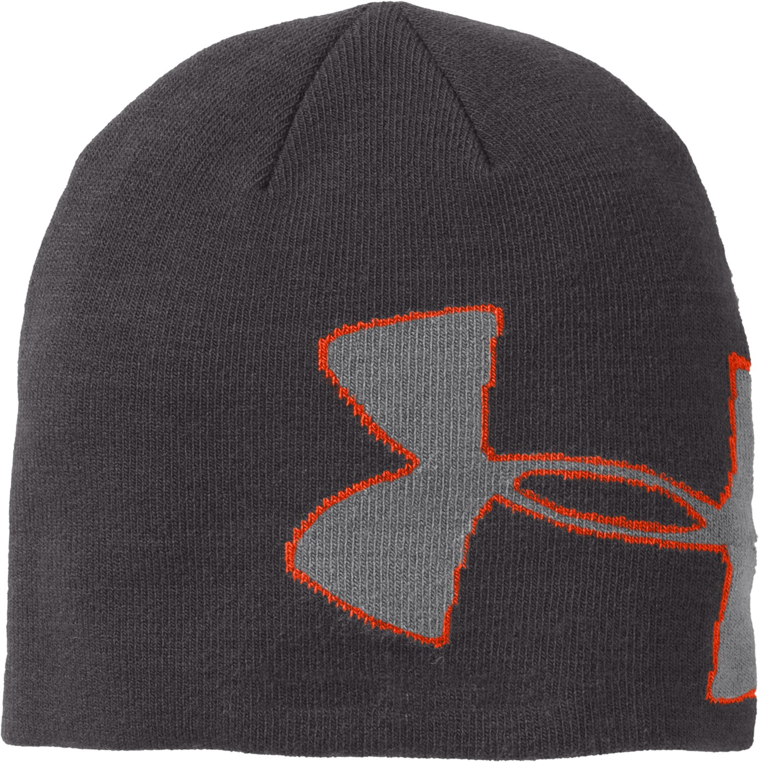 Men's UA Billboard Beanie, Charcoal, zoomed image