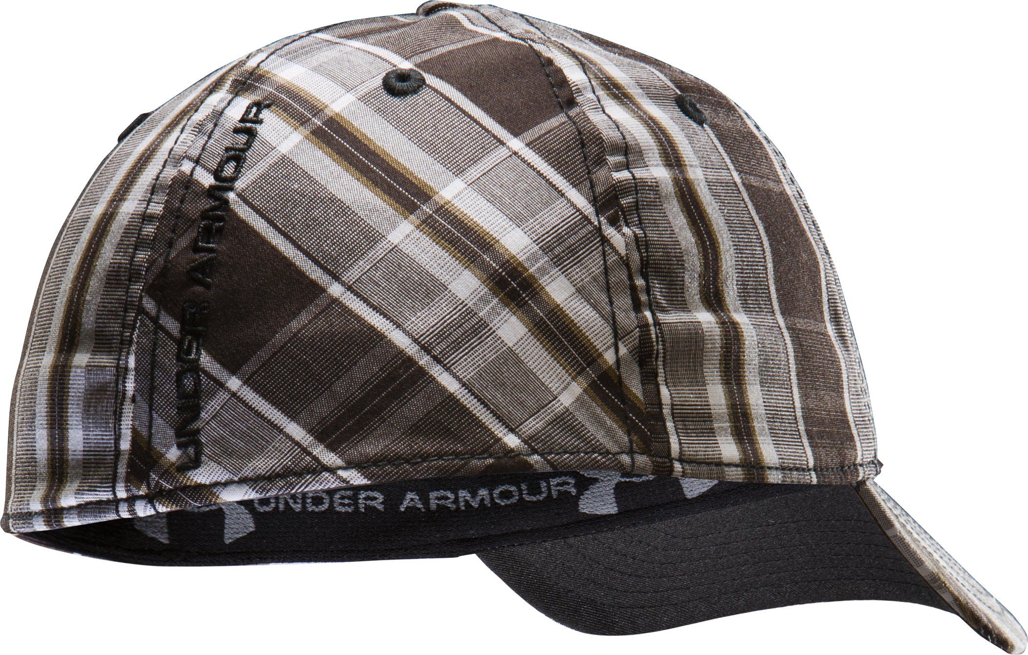Men's UA Progressor Stretch Fit Cap, Black