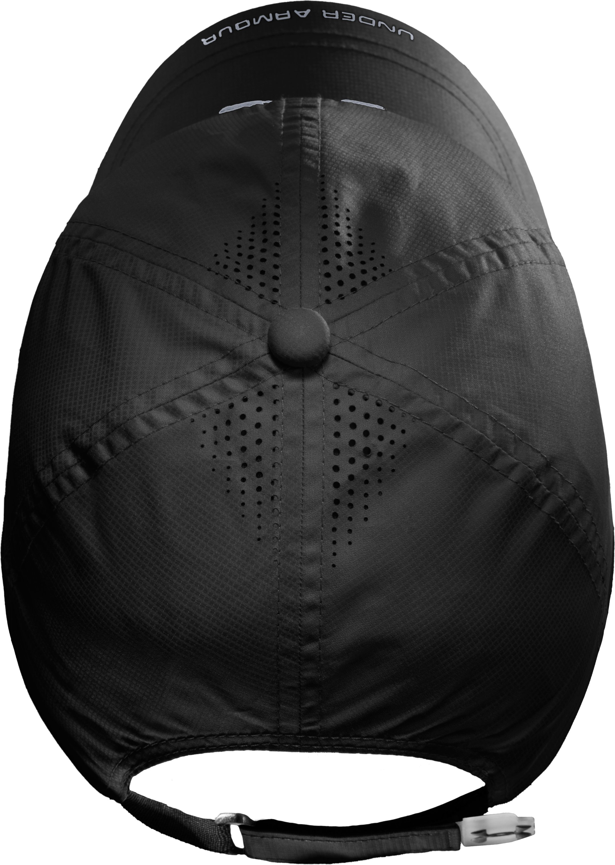 Men's UA Prestige Adjustable Run Cap, Black