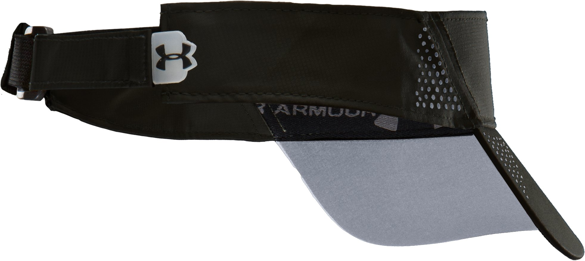 Men's UA Prestige Run Visor, Black
