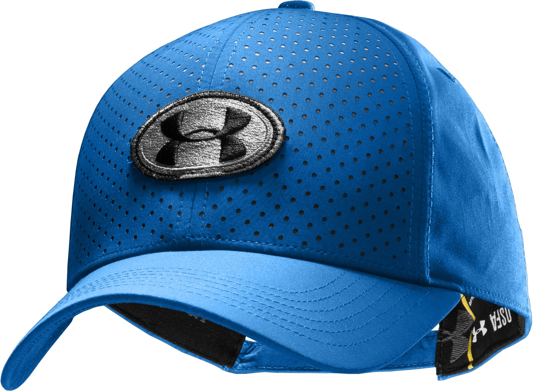 Men's UA Perf Adjustable Cap, Squadron, zoomed image