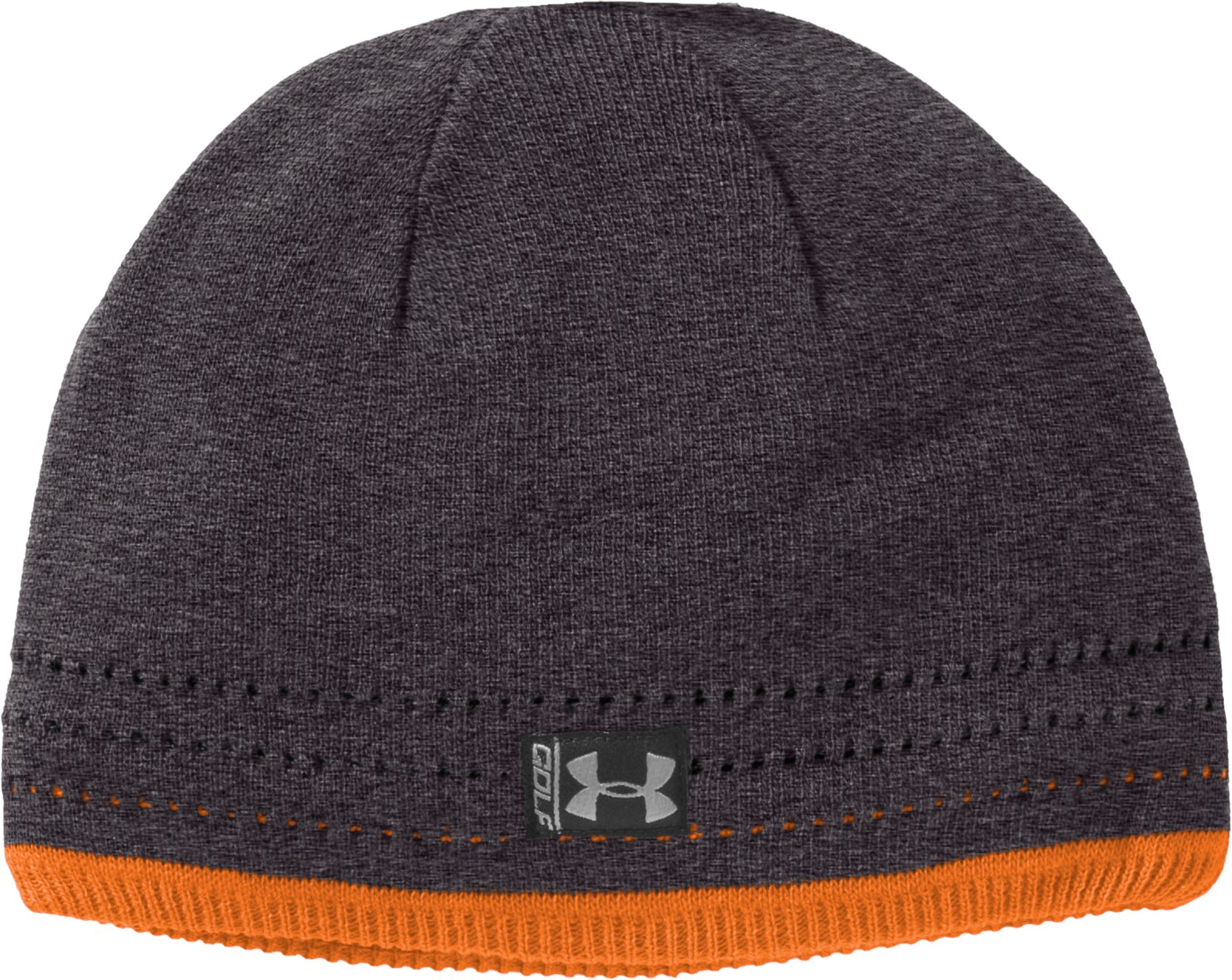 Men's UA Golf Beanie, Carbon Heather