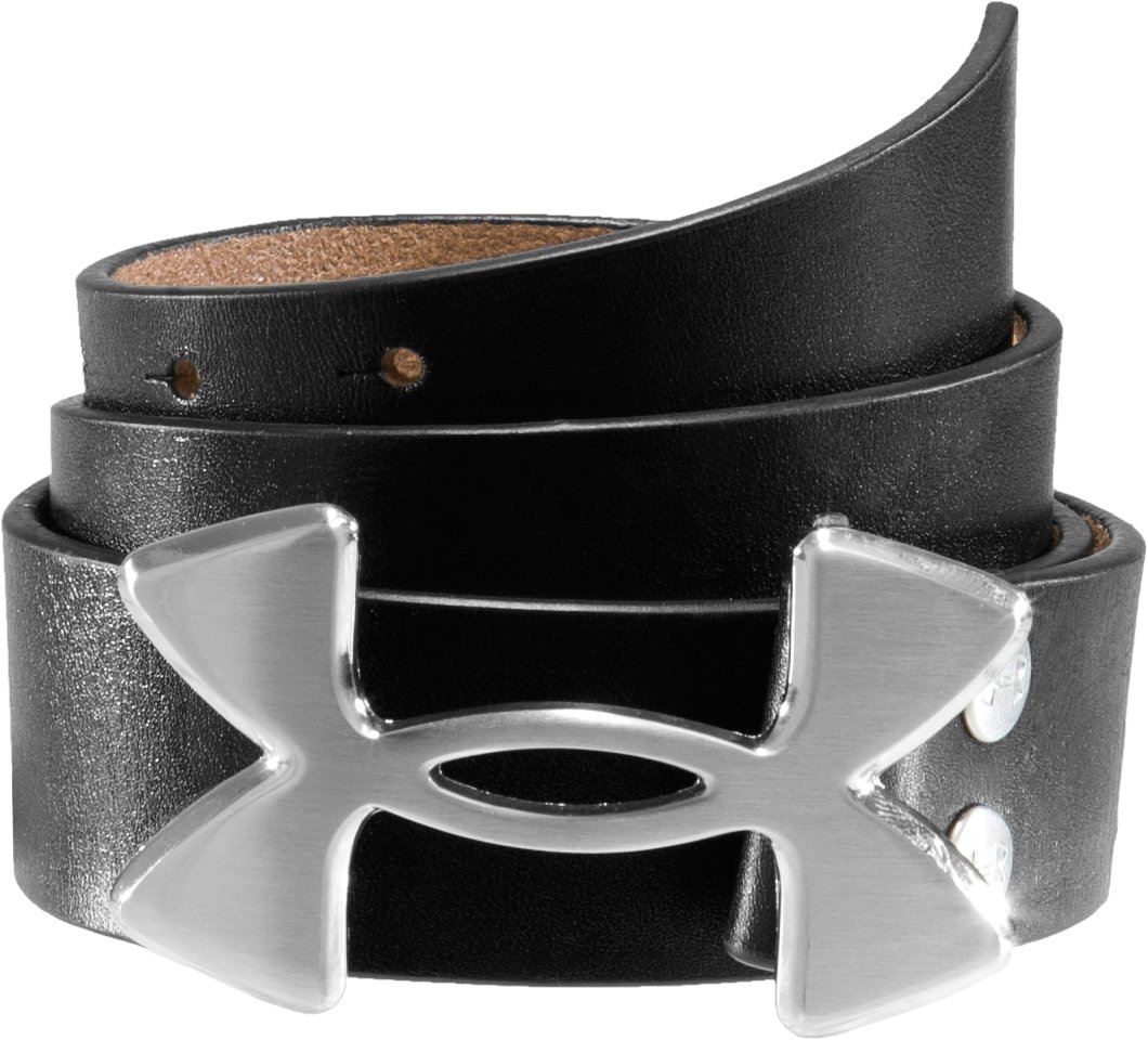 UA Logo Belt, Black