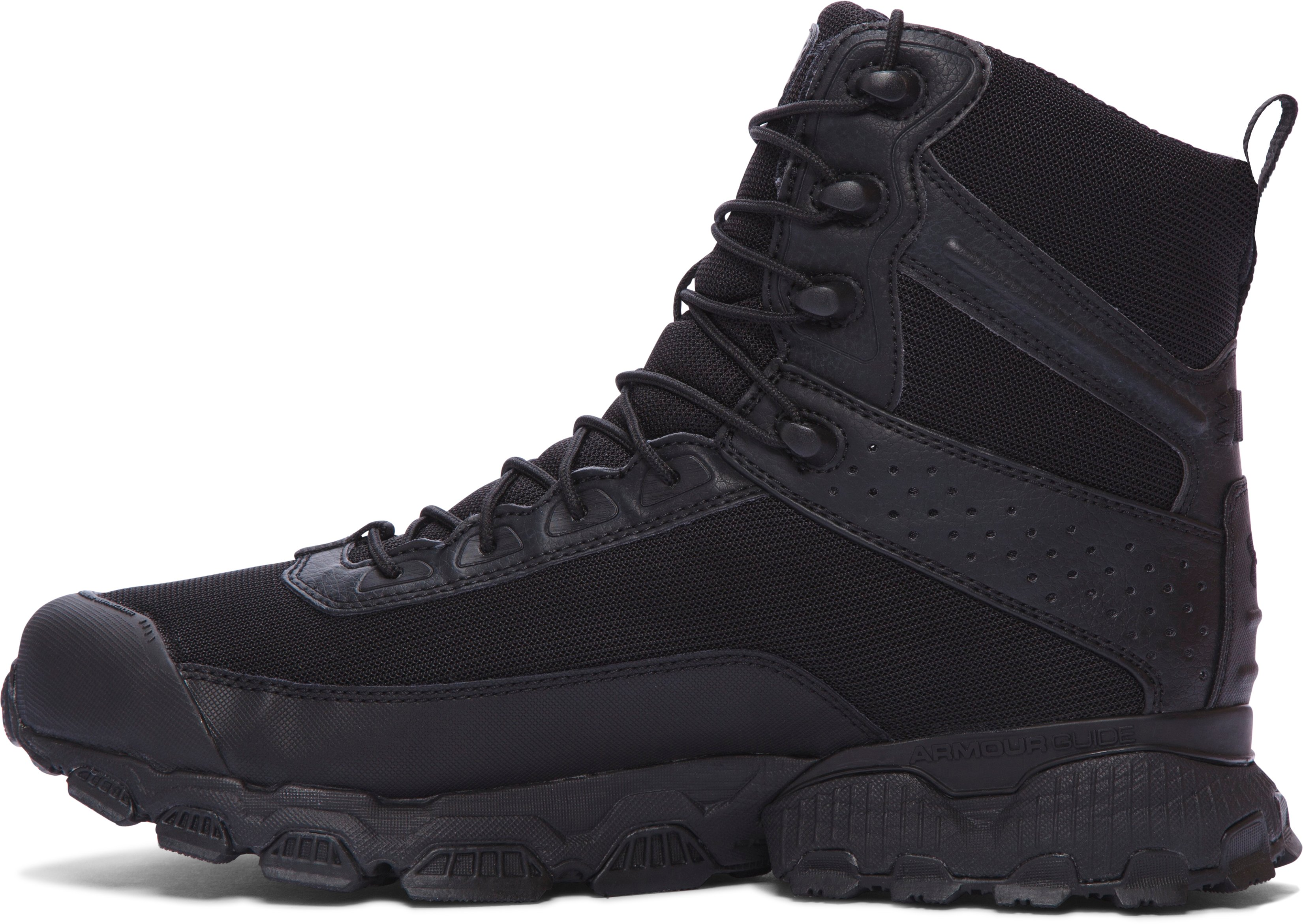 "Men's UA Valsetz 7"" Tactical Boots – Wide (2E), Black"