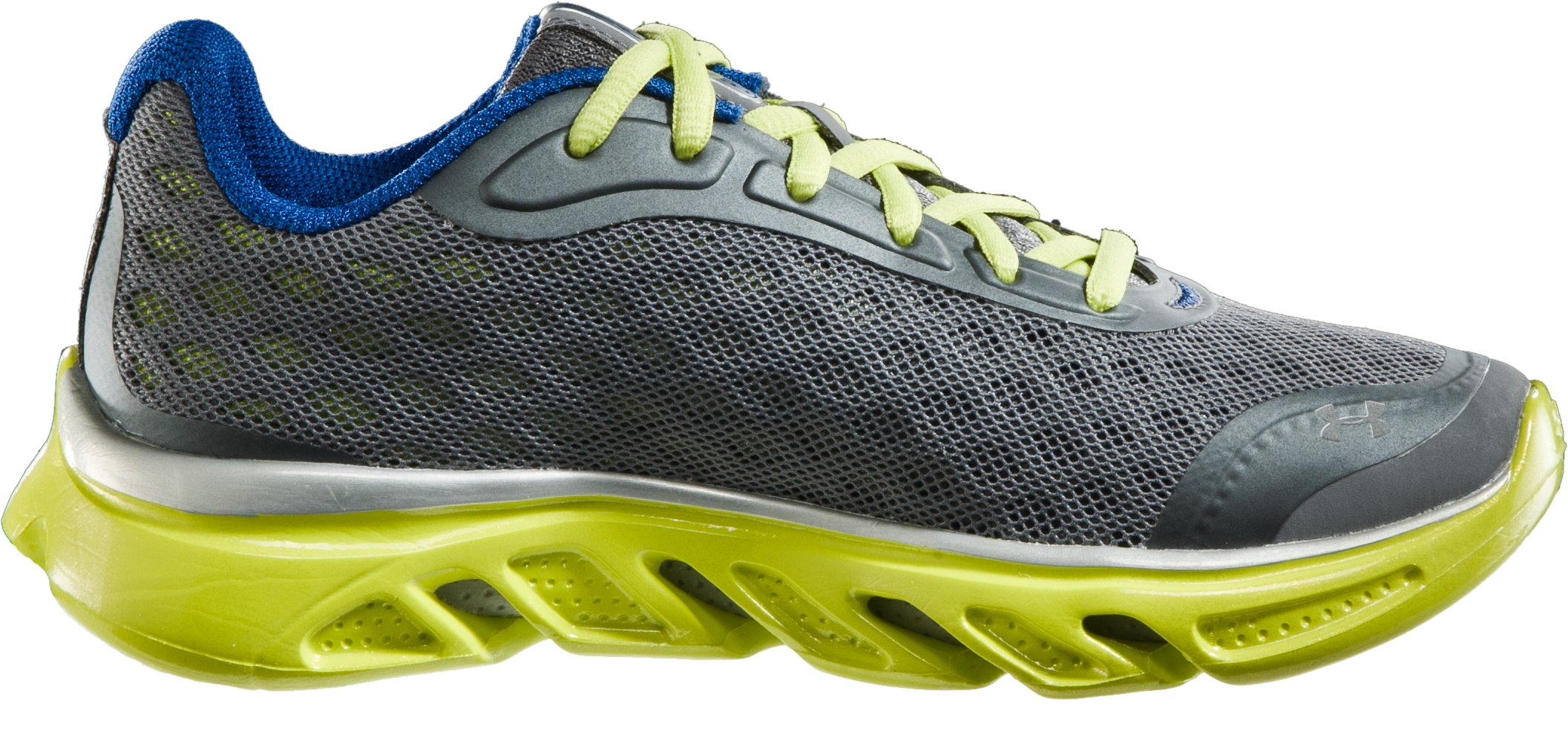 Boys' UA Spine™ Grade School Running Shoes, Graphite