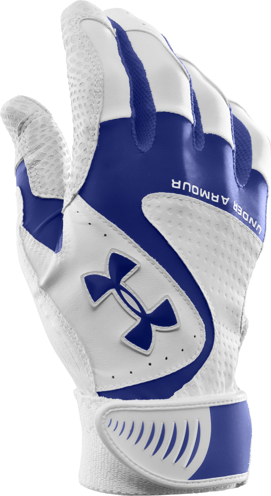 Kids' UA Yard VI Baseball Gloves, Royal, zoomed image