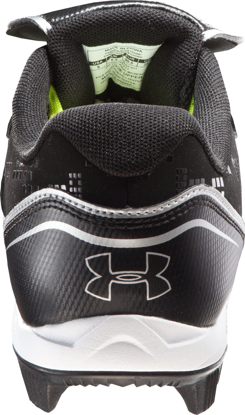 Women's UA Glyde RM Softball Cleats, Black