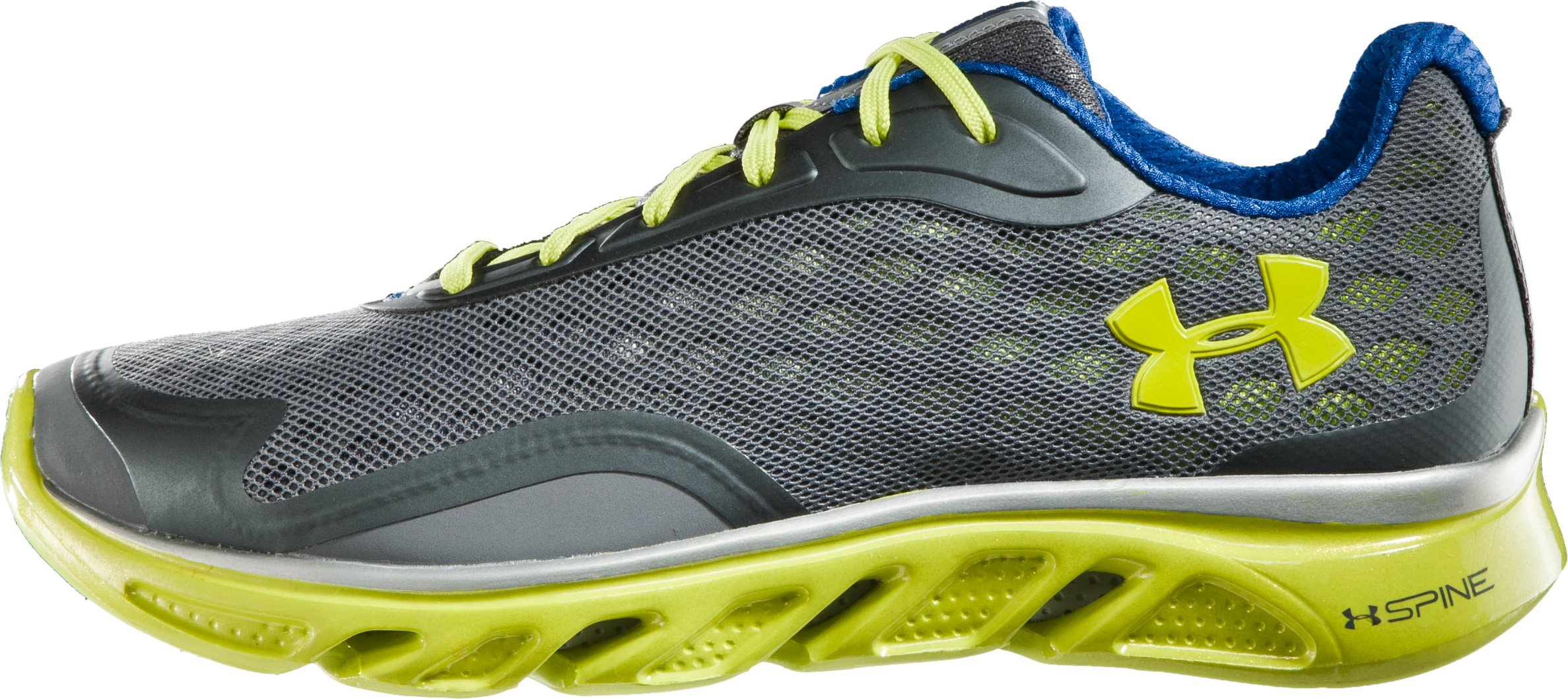 Men's UA Spine™ RPM Running Shoes, Graphite, zoomed image