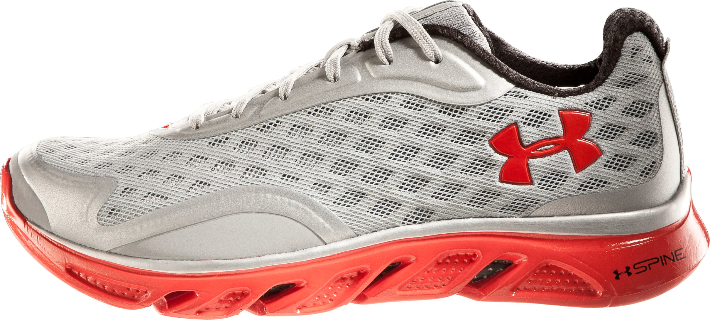 Men's UA Spine™ RPM Running Shoes, Metallic Silver, zoomed image