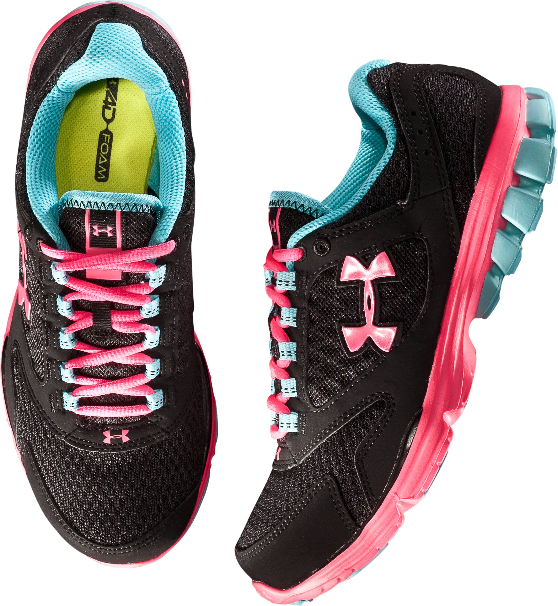 Women's UA Assert II Running Shoe, Black