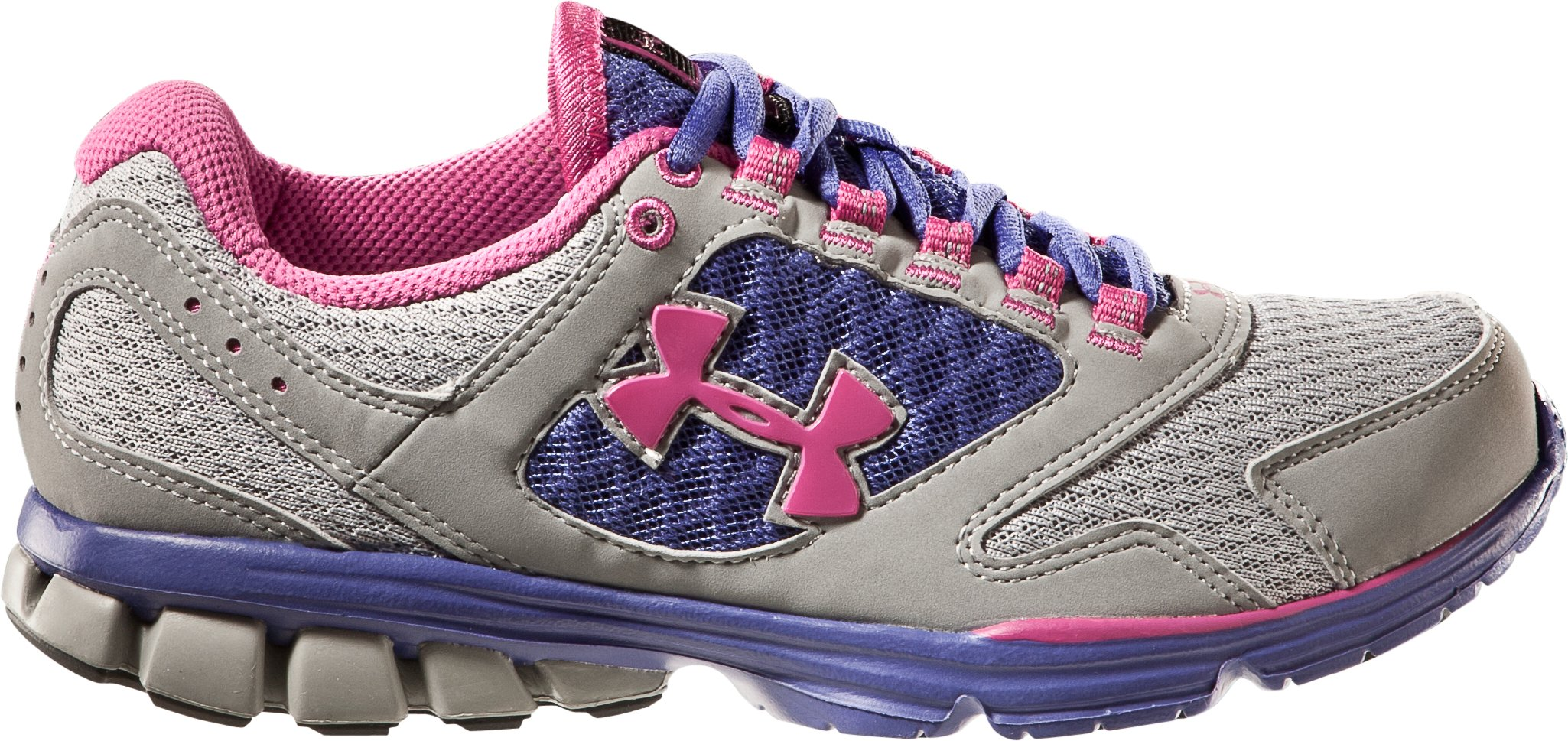 Women's UA Assert II Running Shoe, Steel, zoomed image