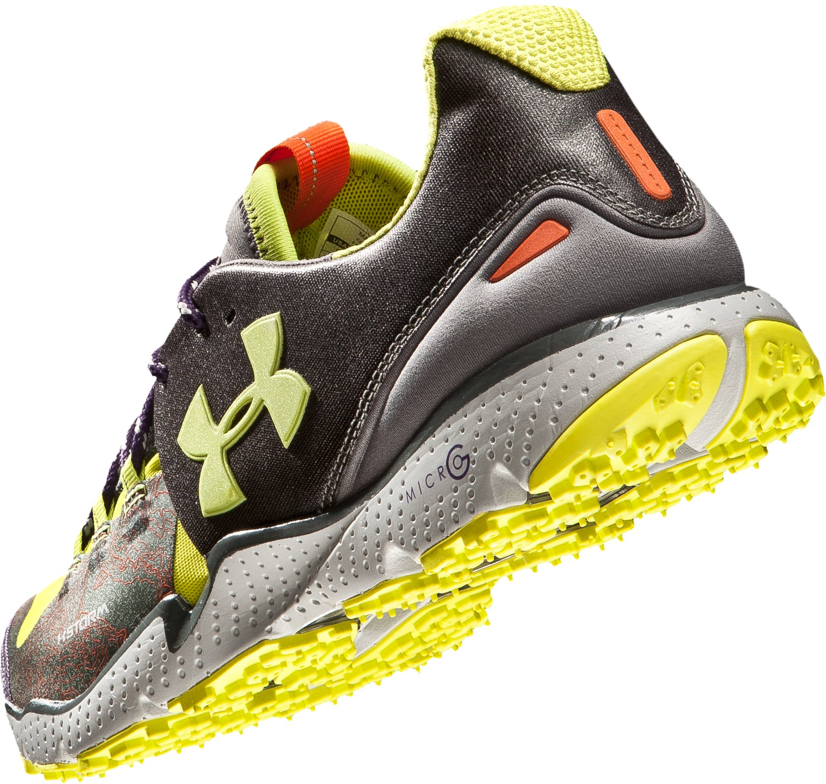 Men's UA Charge RC Storm Running Shoes, GUNMETAL GRAY,