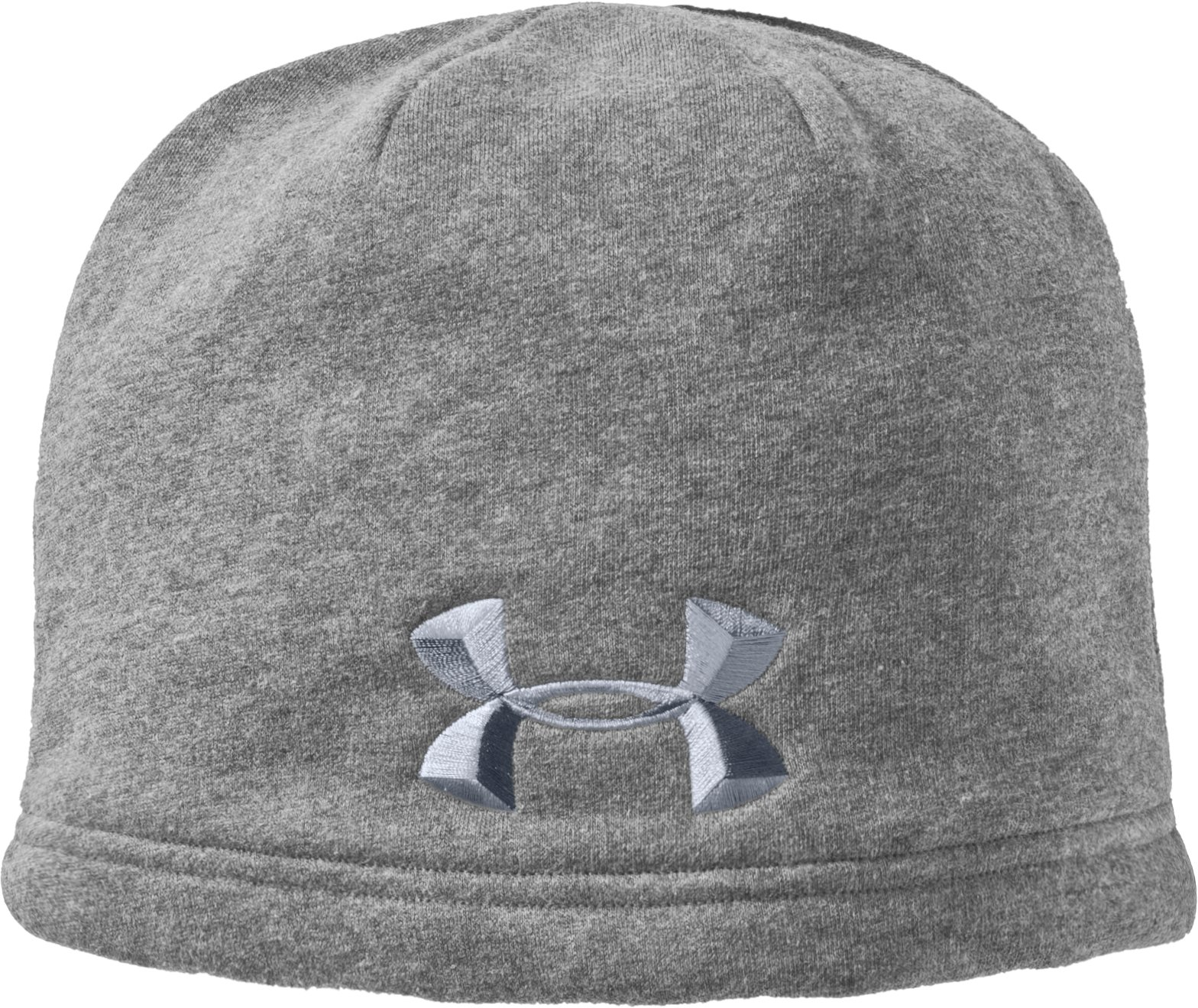 Men's UA Storm Beanie, True Gray Heather