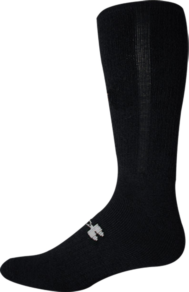 Men's ColdGear® Tactical Boot Socks, Black , zoomed image